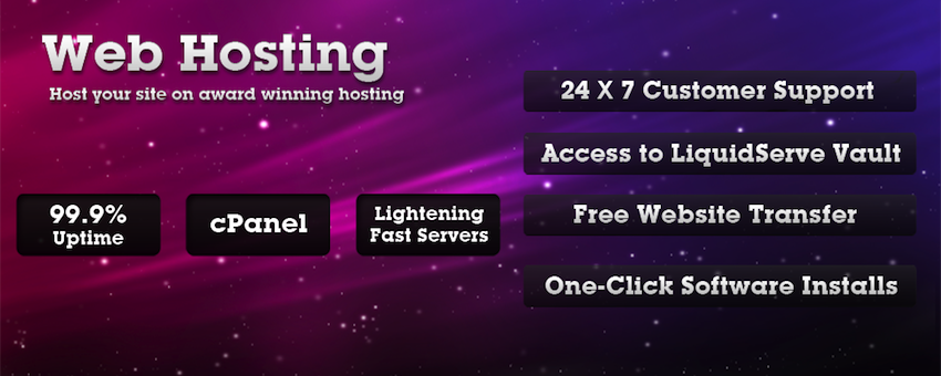Web-Hosting :: LiquidServe with loads of features